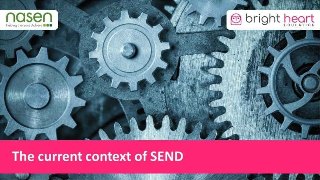 The current context of SEND