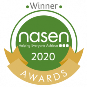 nasen award Bright Heart Education winner
