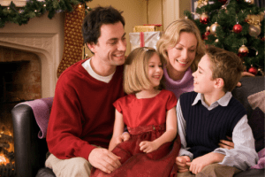 the festive season with families